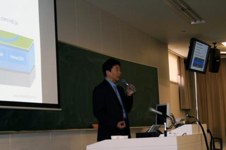 グーグルのプロダクツとイノベーションについて語る辻野晃一郎氏