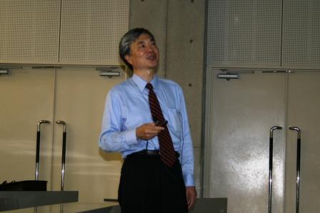 昔の交換機からNGNについて語る黒田憲一氏