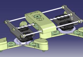 MoMoは壁や天井を自由に移動することで,センサなど空間内の様々なデバイスを再配置することができ,常に最適化された知能化空間が実現できる